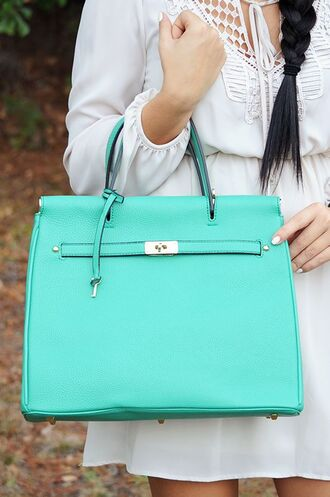 bag tiffany blue