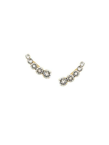 women earrings white jewels