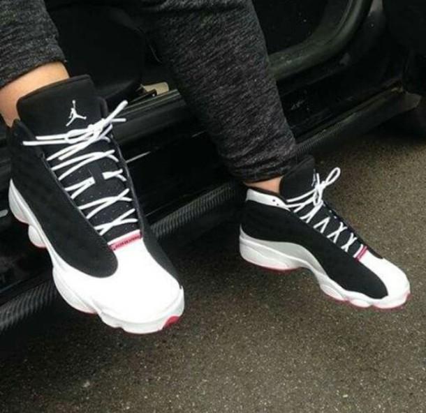 shoes jordan's shoes sneakers jordans black and white