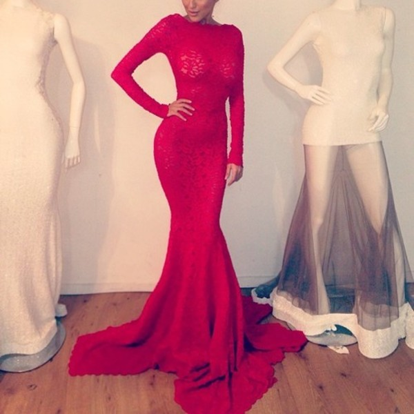 dress long red dress long dress red dress red long sleeve dress