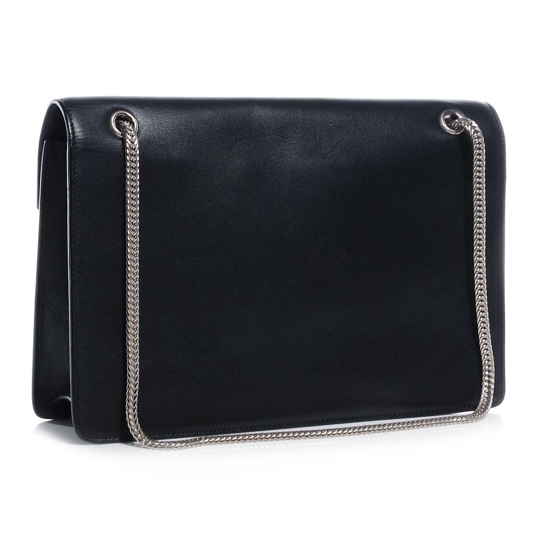 Saint laurent leather classic medium betty bag black