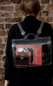bag,backpack,transparent,satchel bag,plastic,hipster wishlist,transparent  bag,hipster,grunge,purse,book,cute