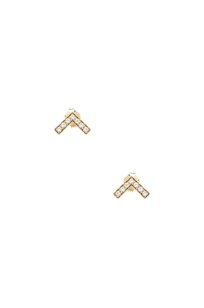 Elizabeth and James earrings stud earrings metallic gold