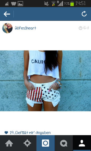 white t-shirt california jersey croptop