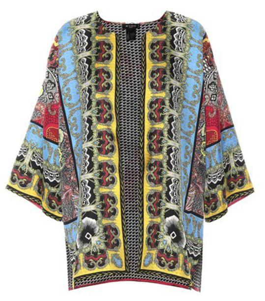 ETRO jacket silk
