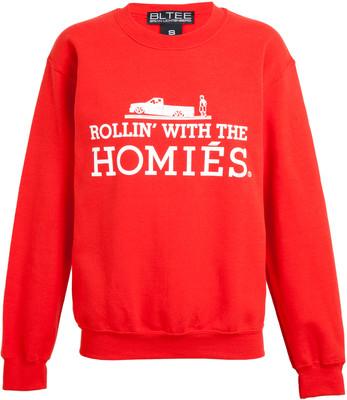 BRIAN LICHTENBERG Rollin' With The Homies Sweatshirt - Polyvore