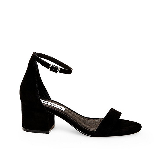 a870348d76 Ankle Strap with Low Block Heel | Steve Madden IRENEE
