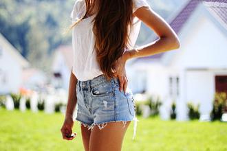 shorts cool ripped light blue short shorts festival high waisted denim shorts