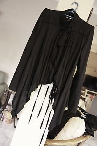 ANN DEMEULEMEESTER Light Spring Structured Jacket FR36/ XS (Worn multi ways!)