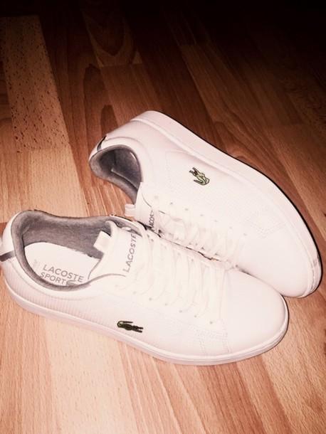 shoes, lacoste, luxury, women, sneakers, swag, classy ...