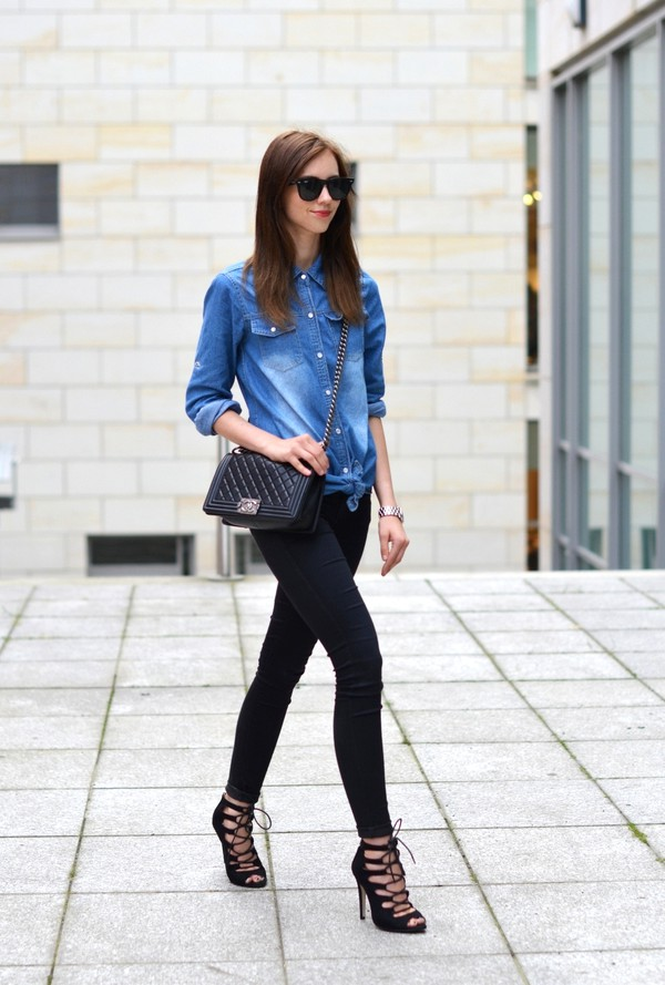 vogue haus jeans shoes bag jewels sunglasses