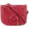 See by chloé - hana shoulder bag - women - goat skin - one size, pink/purple, goat skin