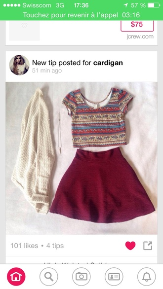 top t-shirt crop tops t shirt with rolled sleeves printed pants red dress