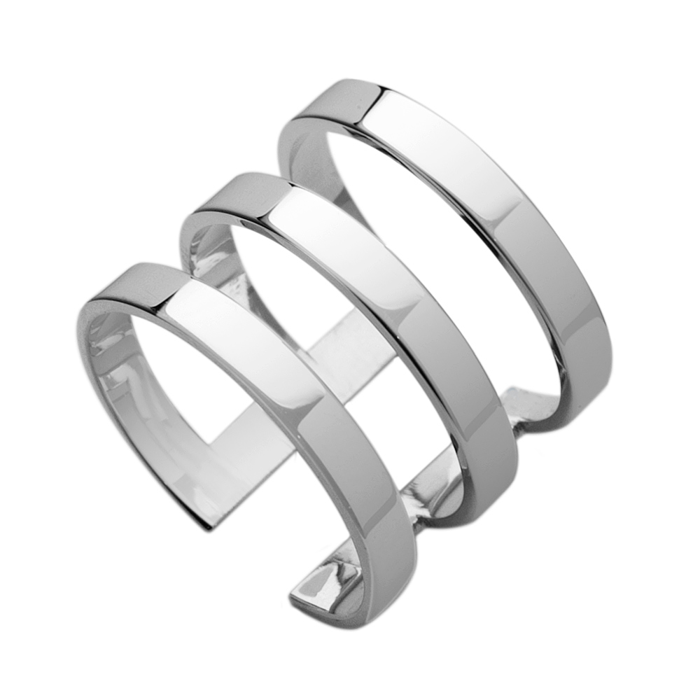 yvette three band ring - Stylish Jewelry Designs at JenniferZeuner.com
