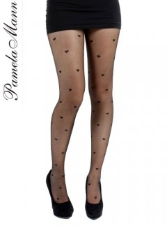 Pamela Mann Sheer Hearts - Pantyhose, Stockings and more -  MyTights.com - The Online Hosiery Store