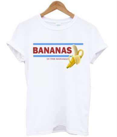 Bananas In The Bahamas T-shirt - StyleCotton