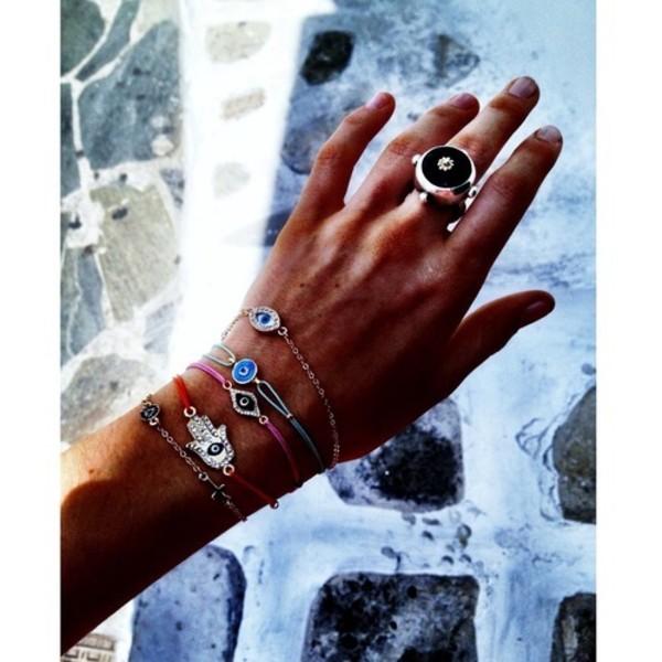 jewels hand jewelry bracelets evil eye bracelet greek