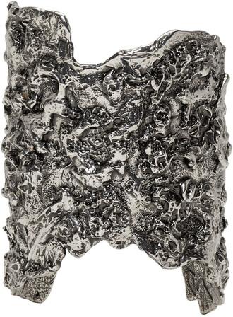 cuff metal silver jewels