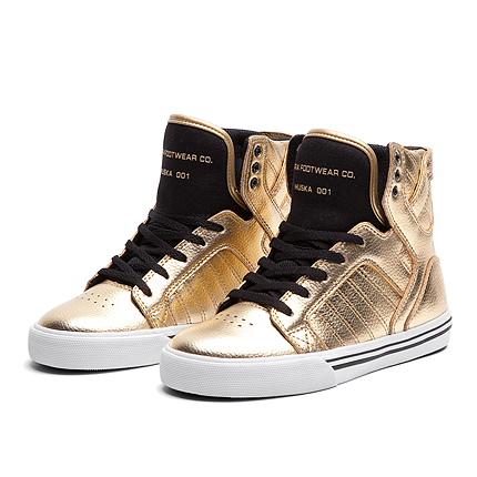 KIDS SKYTOP GOLD BLACK WHITE