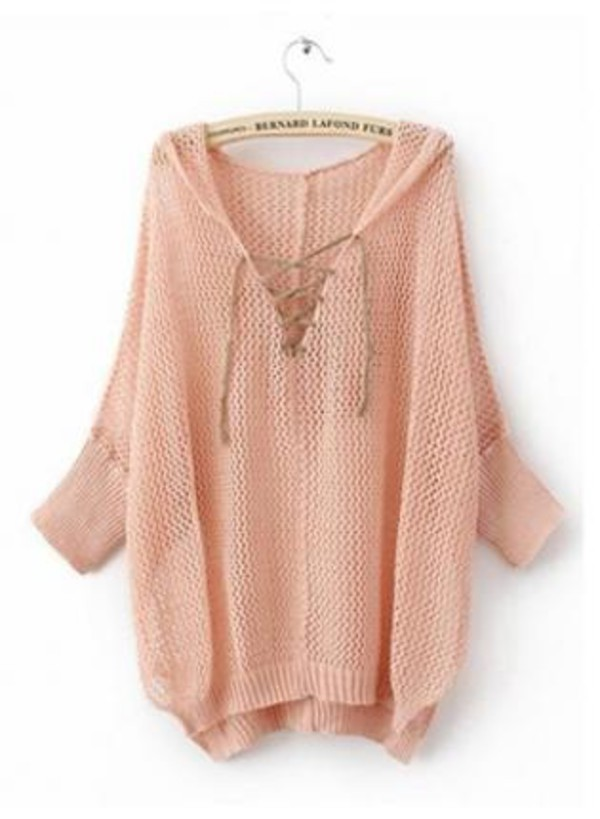 oversized sweater girl pink girly knitwear fall outfits winter sweater sweater
