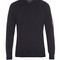 Appliqué-sleeve crew-neck cotton sweatshirt