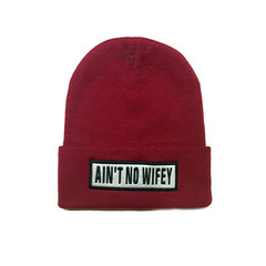 AIN'T NO WIFEY BEANIE / back order – HolyPink