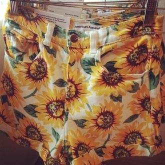 shorts sunflower american apparel