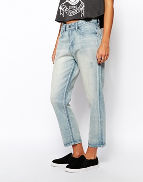 Dr Denim | Dr Denim - Myboy - Jean boyfriend court chez ASOS