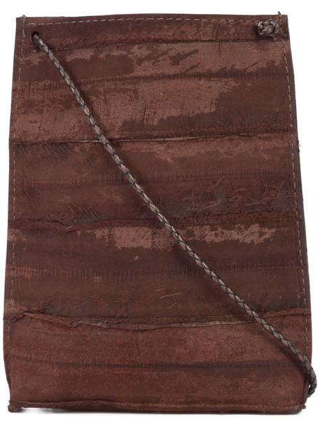 B May women pouch brown bag