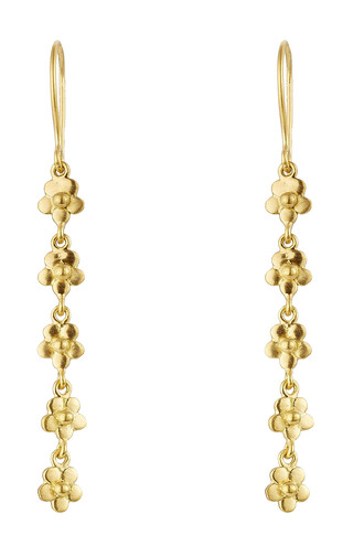 earrings gold earrings gold yellow jewels