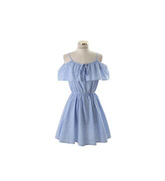 dress clothes lolita gingham blue lolita dress nymphet