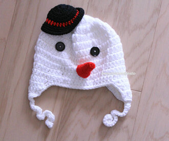 crochet guys boy/girl kid stylish kids fashion beautymanifesto cute white christmas gift ideas snow girl
