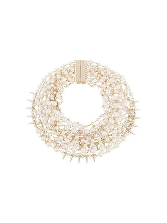 necklace white jewels