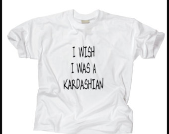 i wish i was a kardashian on Etsy, a global handmade and vintage marketplace.