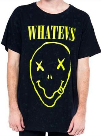 t-shirt tshirt design whatevers smile