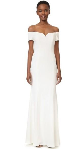 gown short light dress