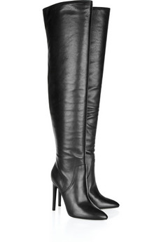 Sofia nappa leather over-the-knee boots | THE OUTNET