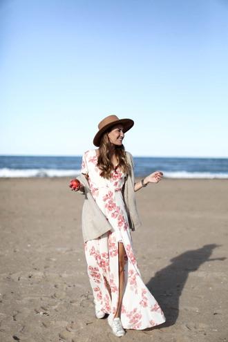 b a r t a b a c blogger dress shoes hat cardigan maxi dress summer dress