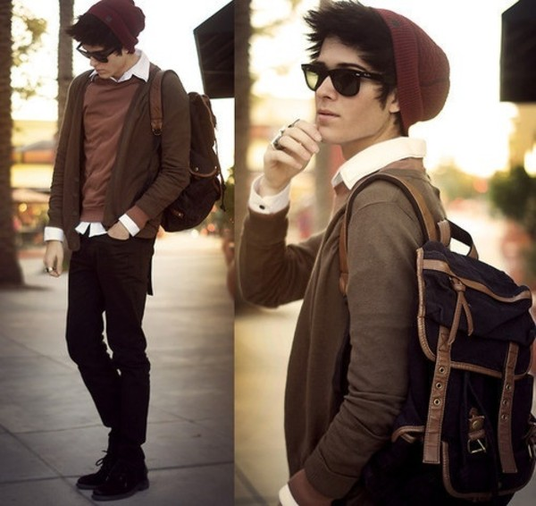 bag hipster menswear