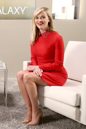 dress,red dress,red,reese witherspoon