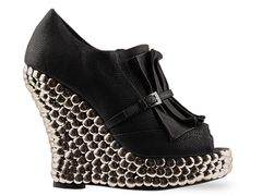 Jeffrey campbell jesmeen in black leather at solestruck.com