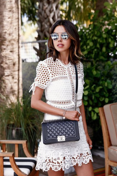 Sunglasses images black and white dress