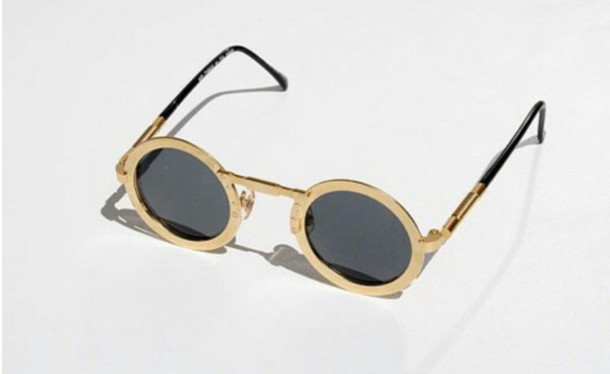 sunglasses metal sunglasses retro round round sunglasses