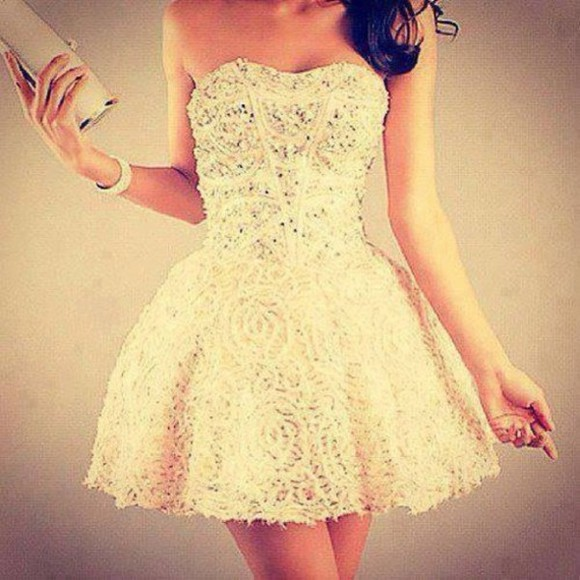 dress glitter dress sparkle girly prom homecoming