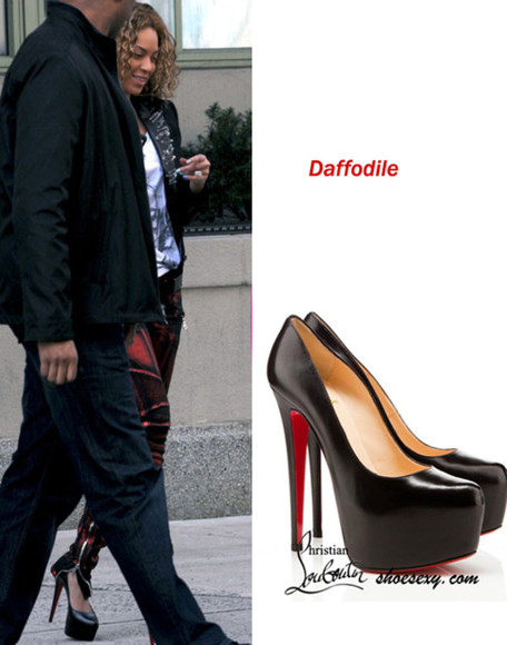 shoes christian louboutin daffodile 160mm pumps red black redbottoms want so bad