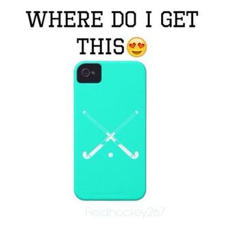 phone cover hockey phone