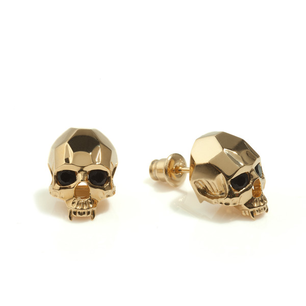Kasun Vampire Skull Stud Earrings - Polyvore