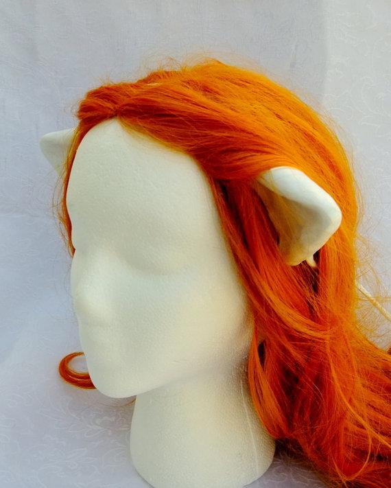 Diclonius Horns, Elfen Lied, Nyuu, Nana, Lucy, Cosplay Horns, Elf Ears, Ready to Ship, Choose White or Flesh