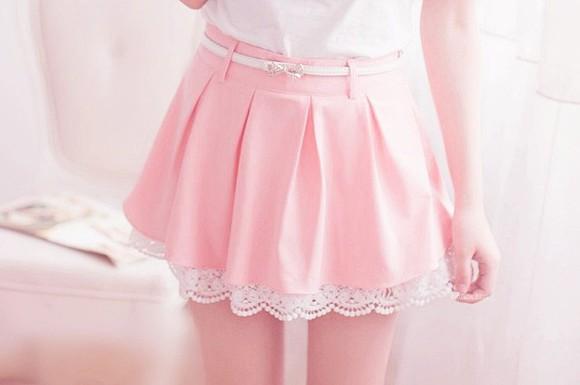 tumblr cute skirt pink tumblr clothes pastel