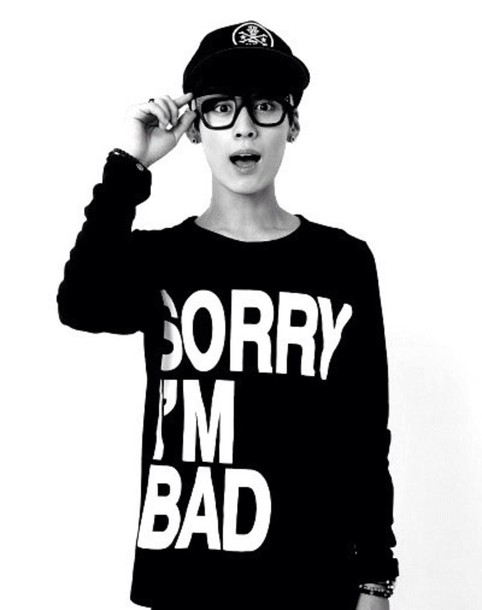 Sweater Korean Fashion Kpop Style Boy Wheretoget